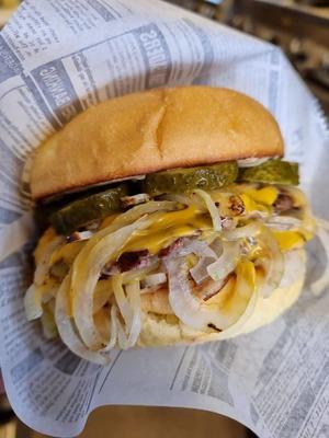 Savage Oklahoma Burger image