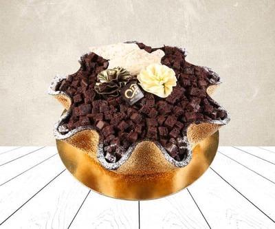 Cream brolly basket mango image