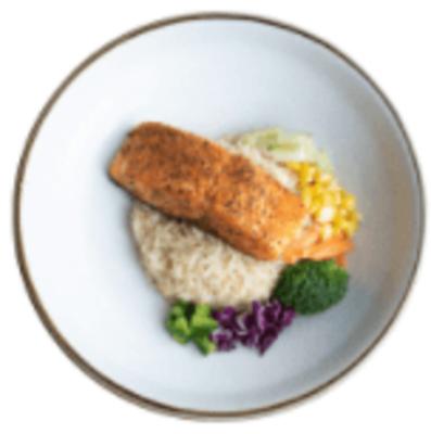 Country Salmon w Seasoned Rice image