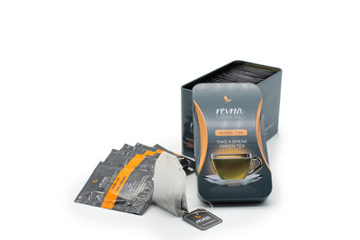 Revna, Mood Tea, Take A Break, 25 Tea bags in a tin image
