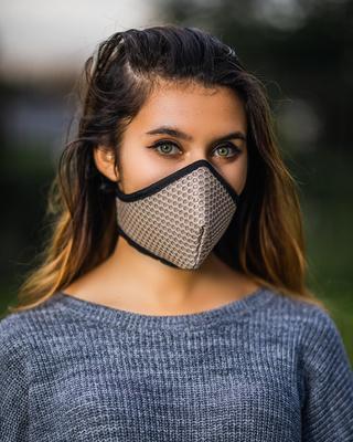 Sub Zero, Mesh Mask, Beige, 1pc image