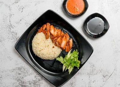 Chicken Char Siew Rice  image