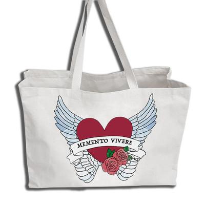 Memento Vivere Tote Bag image