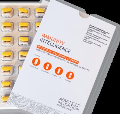Advanced Nutrition Programme - Immunity Intelligence Support - 28 pods image