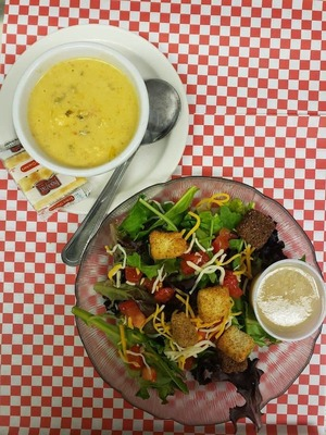 Cup of Soup & House Salad image