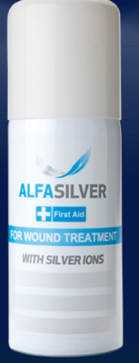 Alfasilver Spray First Aid for Wound Treatment image