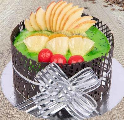 Kiwi Delight Cake-Egg image