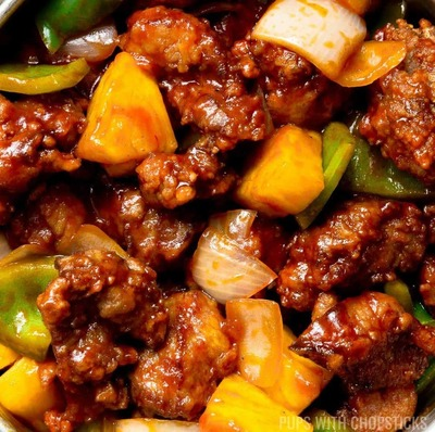 Sweet and Sour Pork 咕噜肉 image