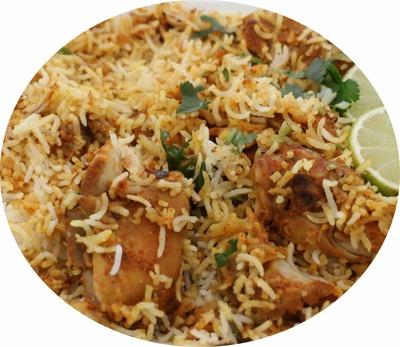 Two portion pack Chicken Biryani image