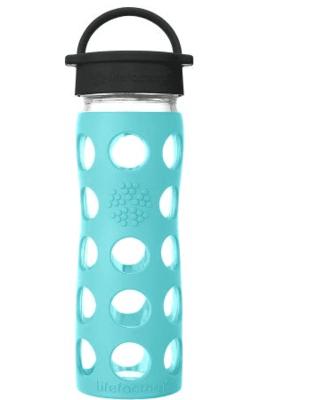 Lf Water Bottle Glass Sea Green 16Oz image