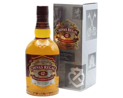 Chivas Regal 12 Year Old Blended Whisky Blended Scotch Whisky Scotland Bottle 700ml 40%VOL. image