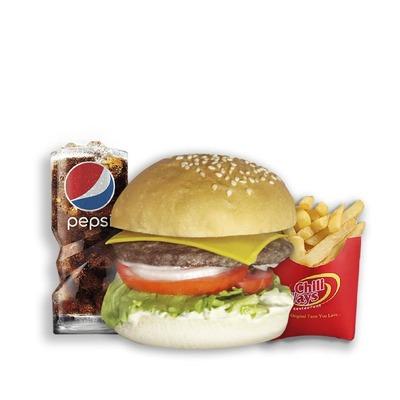 Combo 1 - Beef burger Deluxe image
