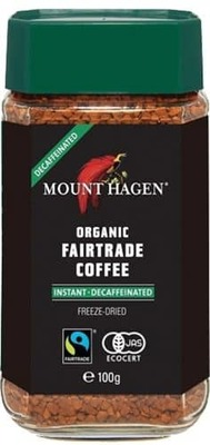 Mount Hagen Instant Coffee Decaf Org 100G image