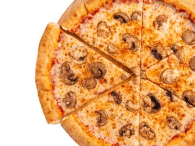 Mushroom Pizza image