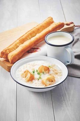 Set C Yoo Tiao + Porridge + Soya Bean image