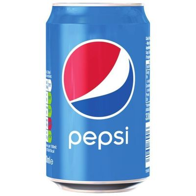 Pepsi can 330 ml image