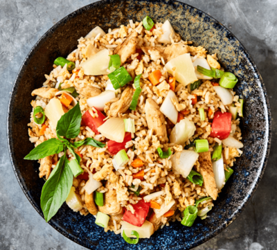 Fried Rice Chicken image