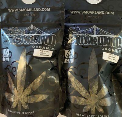 Oakland Organix 2x 14g Bundle image