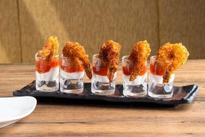 Crispy Fried Prawns - Hot Garlic Sauce image