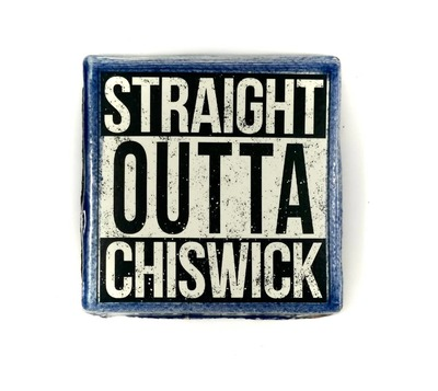 STRAIGHT OUTTA CHISWICK (Blue) image