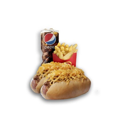 Combo 7 - Two Cheese Coneys image