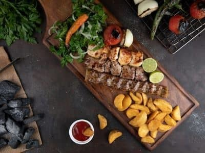 Mixed Grill for One image