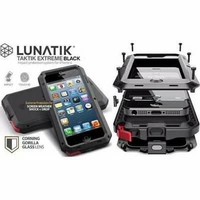 Lunatik Taktik Extreme Lifeproof Case For Iphone 7 / 8 / Se (2nd Gen) Black image