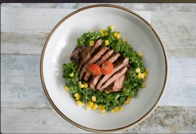 Ribeye Steak w Wedges image