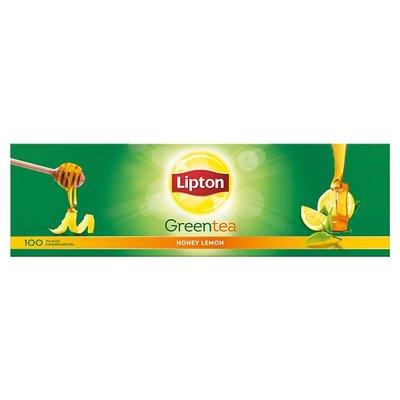 Lipton Honey Lemon Green Tea Bags, 100 Pieces image