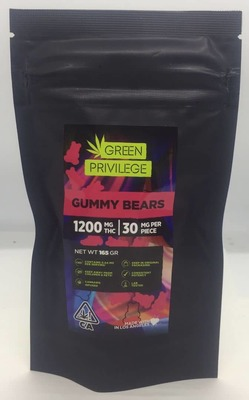 The Green Privilege: Gummy Bears 1200mg image