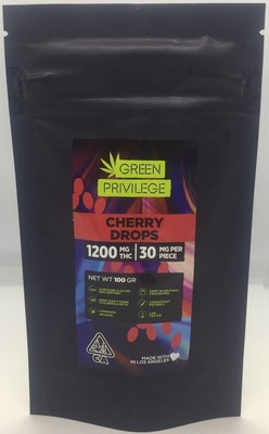 The Green Privilege: Cherry Drops 1200mg image