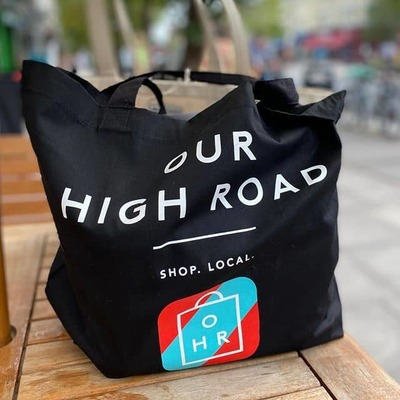 Our High Road tote bag  image
