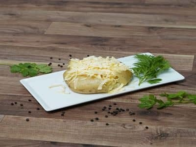 Baked Potato with Cheese and Butter image