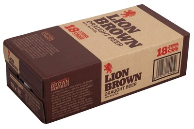 Lion Brown Cans 18x330mL image