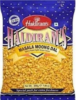 2 pack Haldirams Masala Moong Dal 200g image