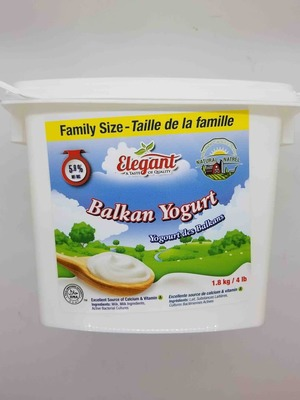 Elegant, Balkan Yogurt, Family Size 1.8 kg image