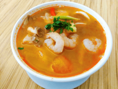 Tomyam Seafood Soup image