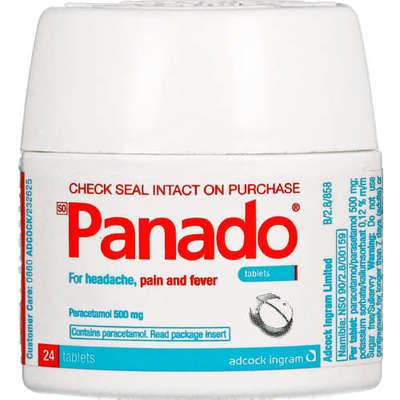 Panado, Tablets, 24's image