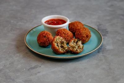 Mushroom Arancini Balls image