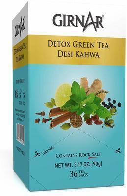 Girnar Green Tea, Desi Kahwa, 36 Tea Bags image