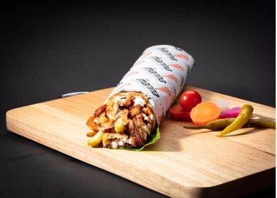 Chicken Shawarma with Cheese Large image