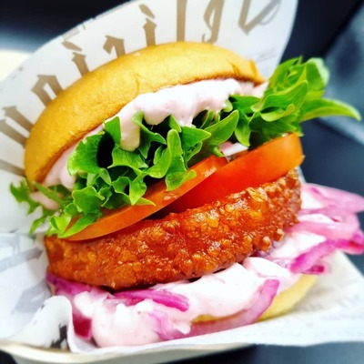 Sexy Halloumi Burger AX image