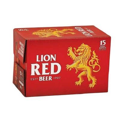 Lion Red Bottles 15x330mL image