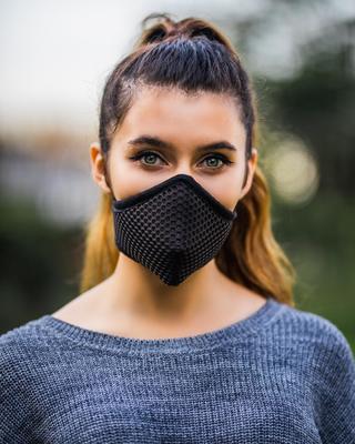 Sub Zero, Mesh Mask,  Black, 1pc image