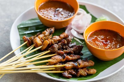 Traditional Satay image