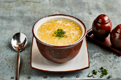 SWEET CORN SOUP image