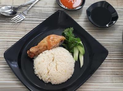 Chicken Drumstick Rice  image