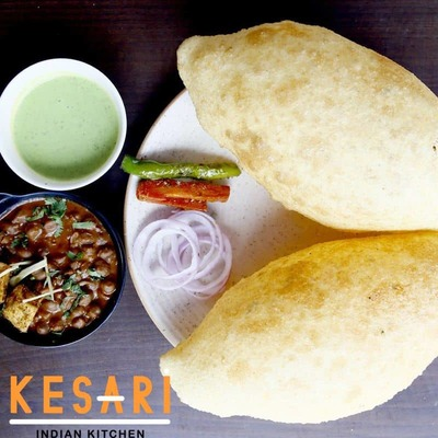 Cholle Bhature image