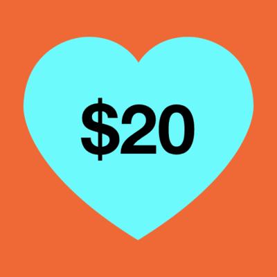 $20 Donation  image