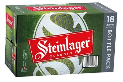 Steinlager Classic cans 18x330mL image